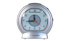 Sonic Boom SBA475ss Analog Loud Plus Vibrating Alarm Clock , New, Free Shipping