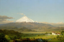 Cotopaxi by Frederic Edwin Church 60cm x 40cm Art Paper Print