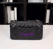 2020New High Quality Women Real Leather Crossbody Fashion Classic Chain Bag 25cm