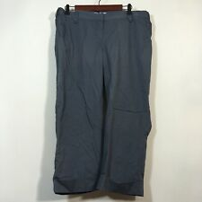 Liz Lange For Target Maternity Pants Woman Size 12 Gray Crop Chino