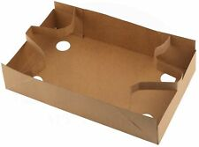 Paperboard Food and Drink Stadium / Theater Tray / Carrier or Holder (15 Pieces)