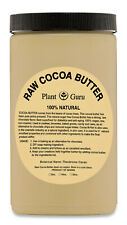 Raw Cocoa Butter 32 oz. 100% Pure Organic Unrefined FOOD GRADE  Cacao Beans Bulk