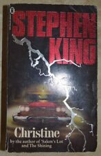 KING STEPHEN - CHRISTINE BY AUTHOR SALEM THE SHINING - INGLESE - ANNO: 1983 (YO)