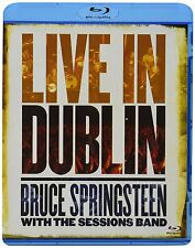 BRUCE SPRINGSTEEN WITH THE SESSIONS BAND: LIVE IN DUBLIN (Blu-ray Disc) NEU+OVP
