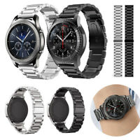 20/22mm Usual Stainless Steel Watch Band Metal Strap Bracelet For Samsung Garmin
