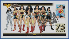 Wonder Woman...  DC Comics... First Day Cover 2016 Set #2 #054