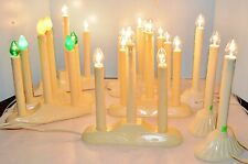 10 Vintage Elec Christmas Window Drip Candle Light Candoliers Noma Style 24 Bulb