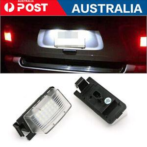 2x LED License Number Plate Lights For Infiniti G25 G35 G37 Q60 Sedan 2003-2013