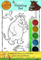 The Gruffalo Childrens Watercolour Painting Set 8x Pictures Paints & Brush 3081