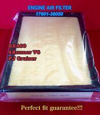 AF6122 Premium Engine Air Filter for TOYOTA 4Runner V6 FJ Cruiser GX460 CA10835