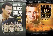 Baa Baa Black Sheep: Volumes 1 & 2 Bundle [DVD Set, Region 1, 5-Disc] NEW
