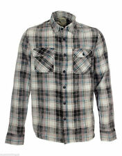 Plaid Collared Long Sleeve Casual Shirts & Tops for Men