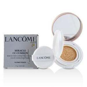 Lancome Miracle CC Cushion Color Correcting Primer - # 03 Pinky Peach 7g Womens