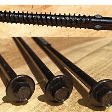 Box Of 50 15 Log Boss Hog Hex Head Timber Fasteners Screws Log Home Cabin