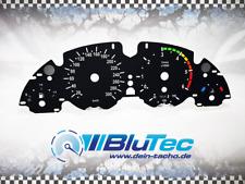 Tachoscheiben für: BMW E38 E39 E53 BLACK EDITION 300kmh 6000upm DISPLAY COLORED