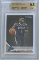 2019-20 Donruss Basketball Rated Rookie Zion Williamson #201 BGS 9.5 Gem Mint