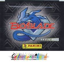 Stickers / Vignettes Panini ~ Beyblade: Hyper Vitesse  ~ Lot De 25 Pochettes