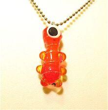 HANDMADE Lampwork Glass Pendant Ornament OOAK ~BrOOkLyN MoNsTeRs~ USA