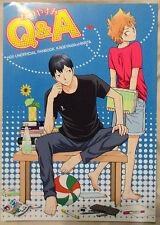 Haikyuu!!  YAOI Doujinshi (Kageyama x Hinatai) Q & A