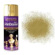 x1 Rust-Oleum Multi-Purpose Premium Spray Paint 400ml Metallic Bright Gold