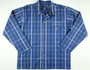 Polo Ralph Lauren Sleepwear Stripe Woven Pajama Shirt Large $44