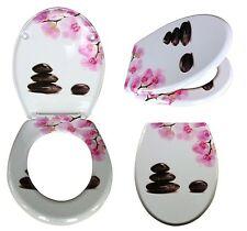 WC Sitz mit Absenkautomatik Toilettendeckel Orchidee Toilettensitz soft close