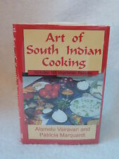 Vairavan & Marquardt  ART OF SOUTH INDIAN COOKING 1997 1stEd SIGNED & INSCRIBED