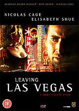 LEAVING LAS VEGAS (18) 1995  Action Thriller  DVD  Region 2