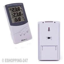 Thermometer Thermo Humidity Hygro Digital LCD Temperature °C °F Clock F192