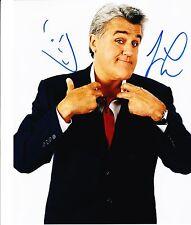 JAY LENO SIGNED 8X10 PHOTO AUTHENTIC AUTOGRAPH NBC THE TONIGHT SHOW COA H