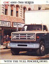 GMC 6000-7000 1980 USA sales brochure