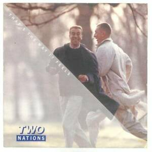 """Two Nations That's The Way It Feels UK 12"""" Vinyl Single 1987 TENT168 10 45 VG"""