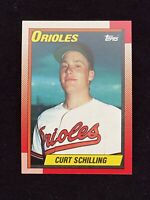 Curt Schilling 1990 Topps RC Rookie Baseball Card Orioles #97  *MINT*