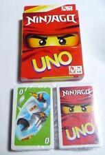 UNO Playing Cards Game NINJAGO Sealed New Lego legends of Ninjago