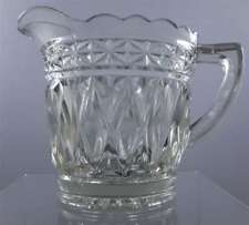 Sweet Vintage Depression Glass Jug Creamer