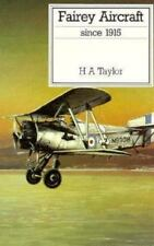 Fairey Aircraft Since 1915 (Putnam Aviation Series), General, 1. Book, .. , Hugh