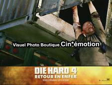 Photo Cinéma 21x28cm (2007) DIE HARD 4, RETOUR EN ENFER Bruce Willis TBE d