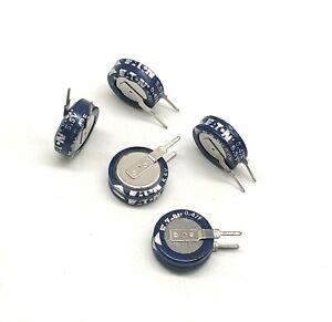 ETN super farad capacitor 5.5V 0.47F V type 474V vertical 5.5v0.47f ETN 10pcs