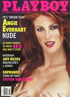 PLAYBOY FEBRUARY 2000 Susanne Stokes Angie Everhart Kalin Olson Jeff Bezos