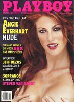 PLAYBOY FEBRUARY 2000 Susanne Stokes Angie Everhart Kalin Olson Jeff Bezos