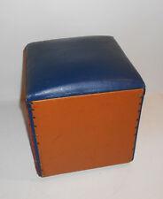 DDR Kindergarten Sitzwürfel Hocker Sitzkasten Deko Vintage GDR Kinderhocker (2