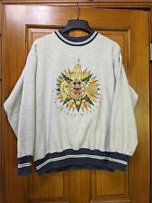 RARE 90's Vintage Walt Disney World Tour Mickey Sweatshirt Grey Crewneck Size M
