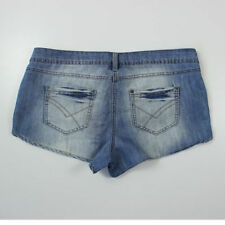 New Look Patternless Hot Pants Mid Rise Shorts for Women