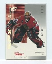 JOCELYN THIBAULT 2002-03 Upper Deck SPx SpectruM Parallel #D /199