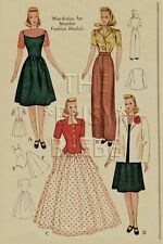 Fashiondol Latexture Mannequin Manikin Pattern #1058 Dress, Coat & Undergarments