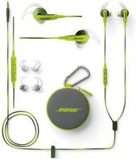 Genuine Bose SoundSport In-Ear Earphones Headset For Apple Devices Energy Green