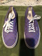 vans tennis shoes puple