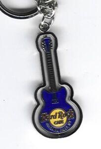 Hard Rock Key Chain Niagara Falls NY Red Rotating guitar