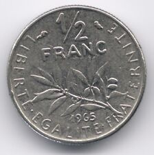 France : 1/2 Franc 1965