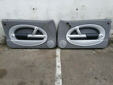 BMW MINI COOPER ONE R50 R52 R53 FRONT PAIR  DOOR CARD TRIM SIDE PANEL PANTHER